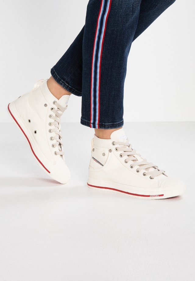 EXPOSURE - High-top trainers - white