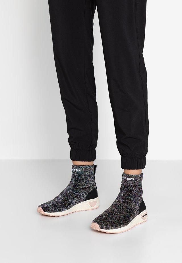 SKB S-KBY SOCK W - Sneakers hoog - schwarz/multicolour