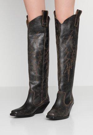 GIUDECCA D-GIUDECCA MHB - Over-the-knee boots - black