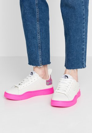 CLEVER S-CLEVER LC W - Trainers - star white/pink fluo