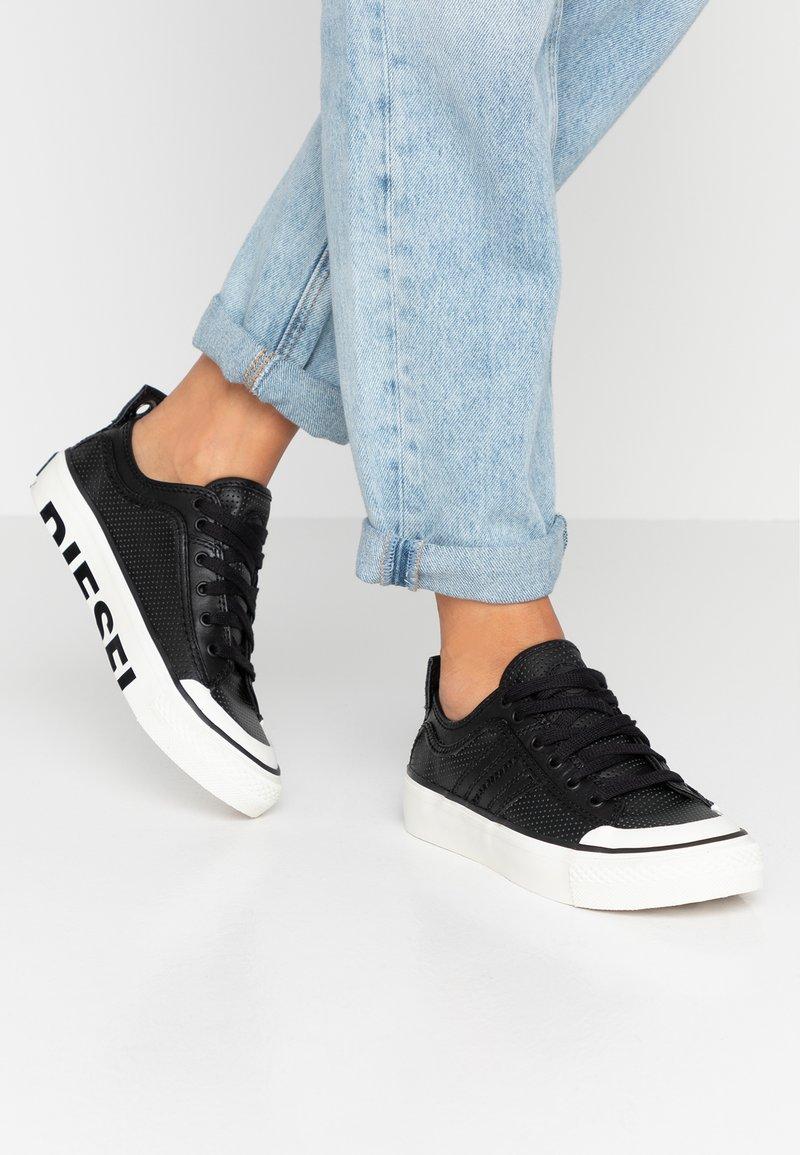 Diesel - ASTICO LOGO  - Sneakers laag - black
