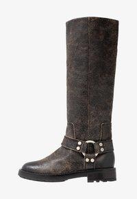Diesel - THROUPER D-THROUPER MB W - Cowboy/Biker boots - black - 1