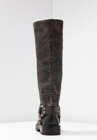 Diesel - THROUPER D-THROUPER MB W - Cowboy/Biker boots - black - 5