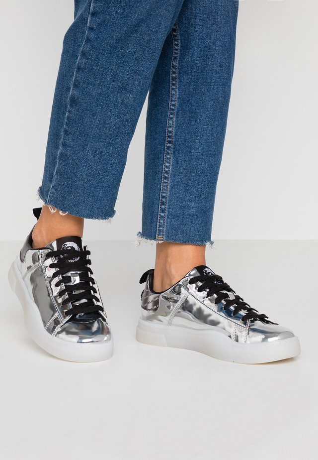 CLEVER S-CLEVER LOW LACE W - Sneakers laag - silver