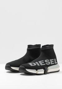 Diesel - PADOLA H-PADOLA MID SOCK W - High-top trainers - black - 3