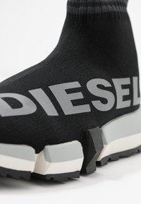 Diesel - PADOLA H-PADOLA MID SOCK W - High-top trainers - black - 2