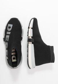 Diesel - PADOLA H-PADOLA MID SOCK W - High-top trainers - black - 4