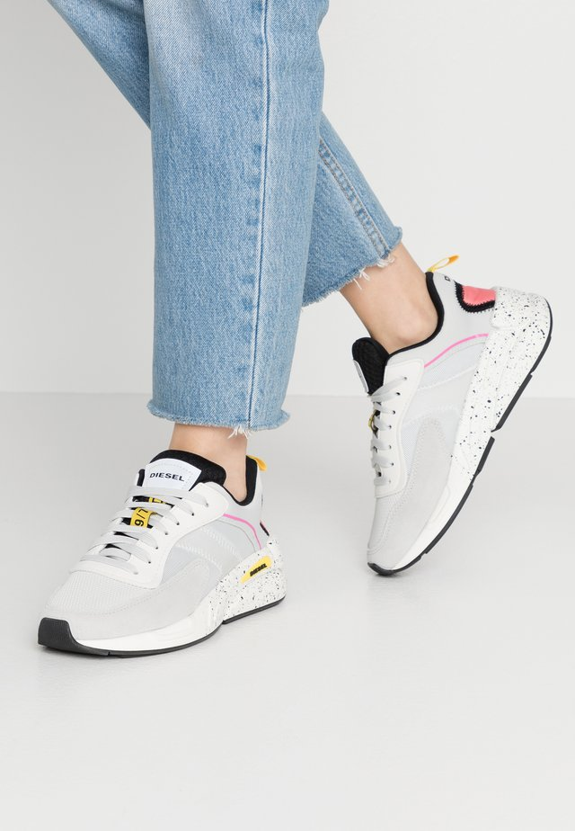 SERENDIPITY S-SERENDIPITY LOW W - Sneakers laag - white/gray/violet