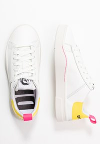 Diesel - S-CLEVER LOW LACE W - Sneakers basse - white - 3
