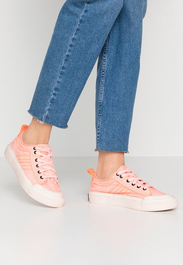 ASTICO S-ASTICO LOW LACE W - Sneakers laag - fluo coral