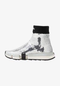 Diesel - PADOLA SOCK - Sneakers hoog - silver - 1