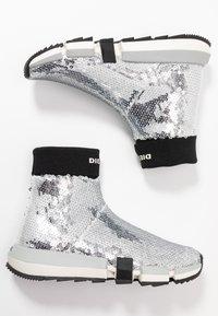 Diesel - PADOLA SOCK - Sneakers hoog - silver - 3