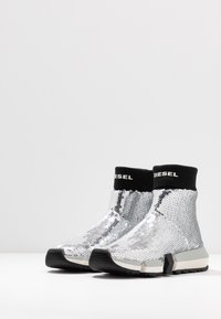 Diesel - PADOLA SOCK - Sneakers hoog - silver - 4