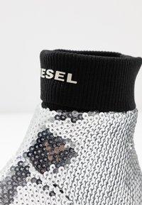Diesel - PADOLA SOCK - Sneakers hoog - silver - 2