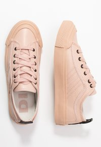 Diesel - S-ASTICO LOW LACE W - Trainers - cameo rose - 3