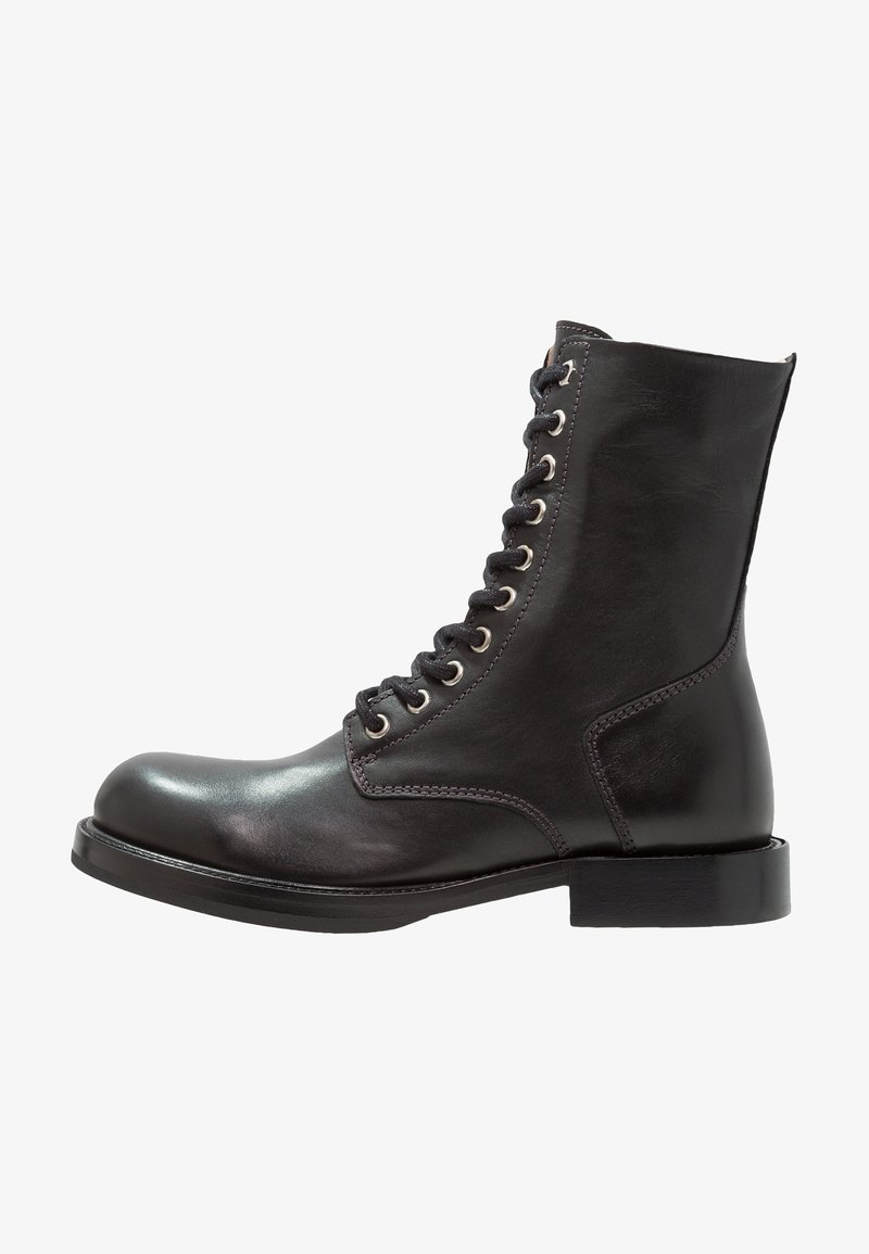 Diesel - KOMB BOOT D-KOMB BOOT CB  - Lace-up ankle boots - schwarz