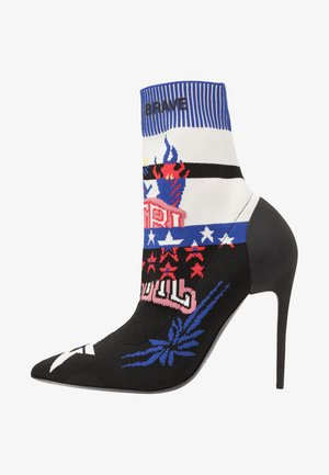 SLANTY D-SLANTY HAB - High heeled ankle boots - multicolor