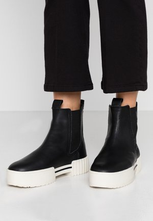 MERLEY H-MERLEY CB - Platform ankle boots - black