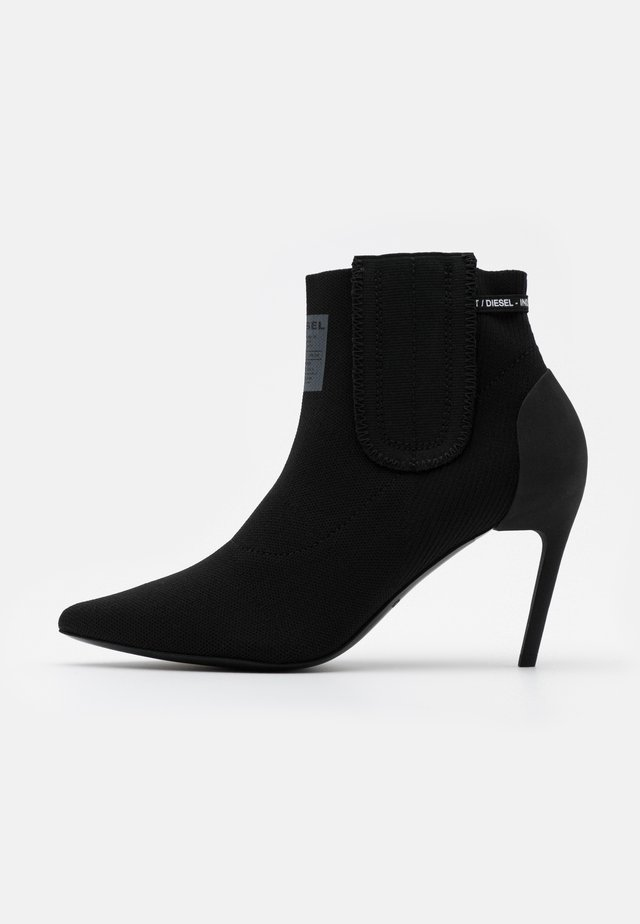 SLANTY D-SLANTY MASM BOOTS - High heeled ankle boots - black
