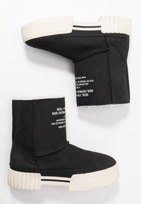 Diesel - MERLEY - Platform ankle boots - black - 3