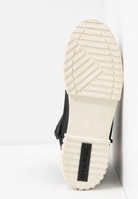 Diesel - MERLEY - Platform ankle boots - black - 6