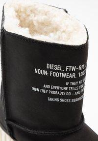 Diesel - MERLEY - Platform ankle boots - black - 2