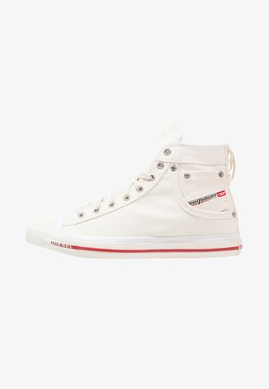 EXPOSURE - High-top trainers - bright white