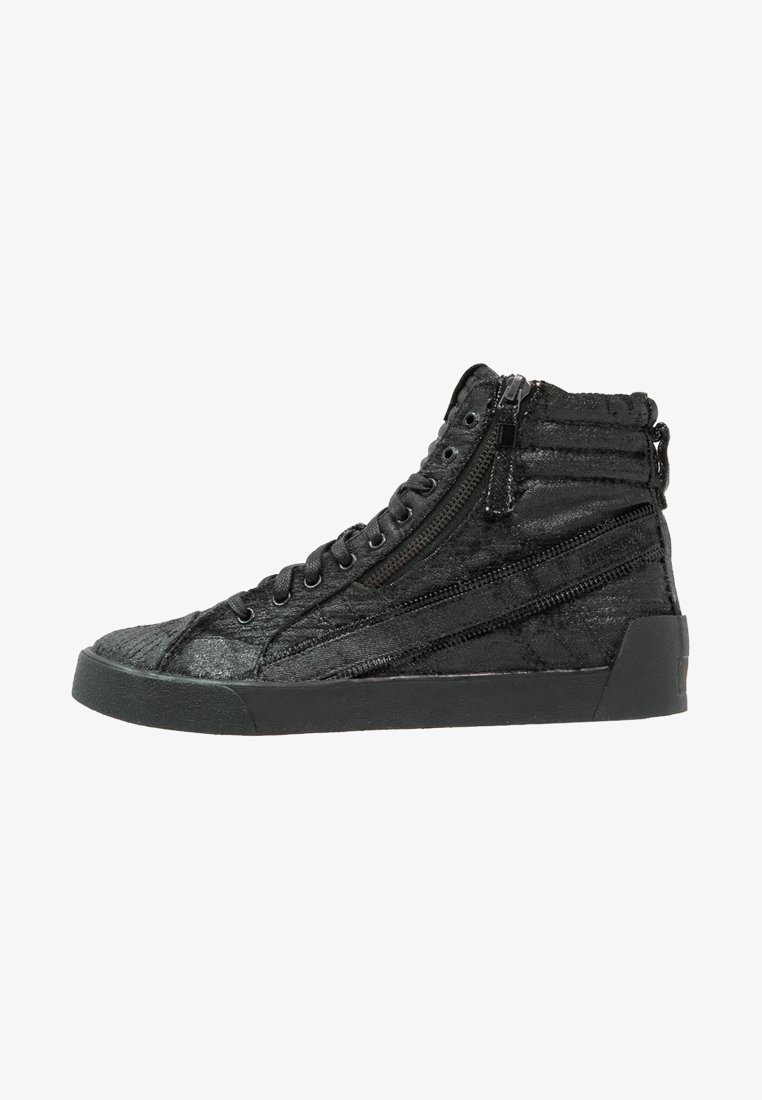 Diesel - D-STRING PLUS - High-top trainers - schwarz