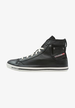 EXPOSURE I - High-top trainers - black