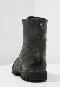 Diesel - STEEL - Šněrovací kotníkové boty - black - 3