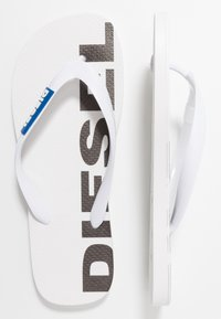 Diesel - SA-BRIIAN - Pool shoes - star white/turkish - 1
