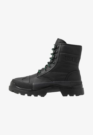 D-VAIONT DBB II - Lace-up ankle boots - black