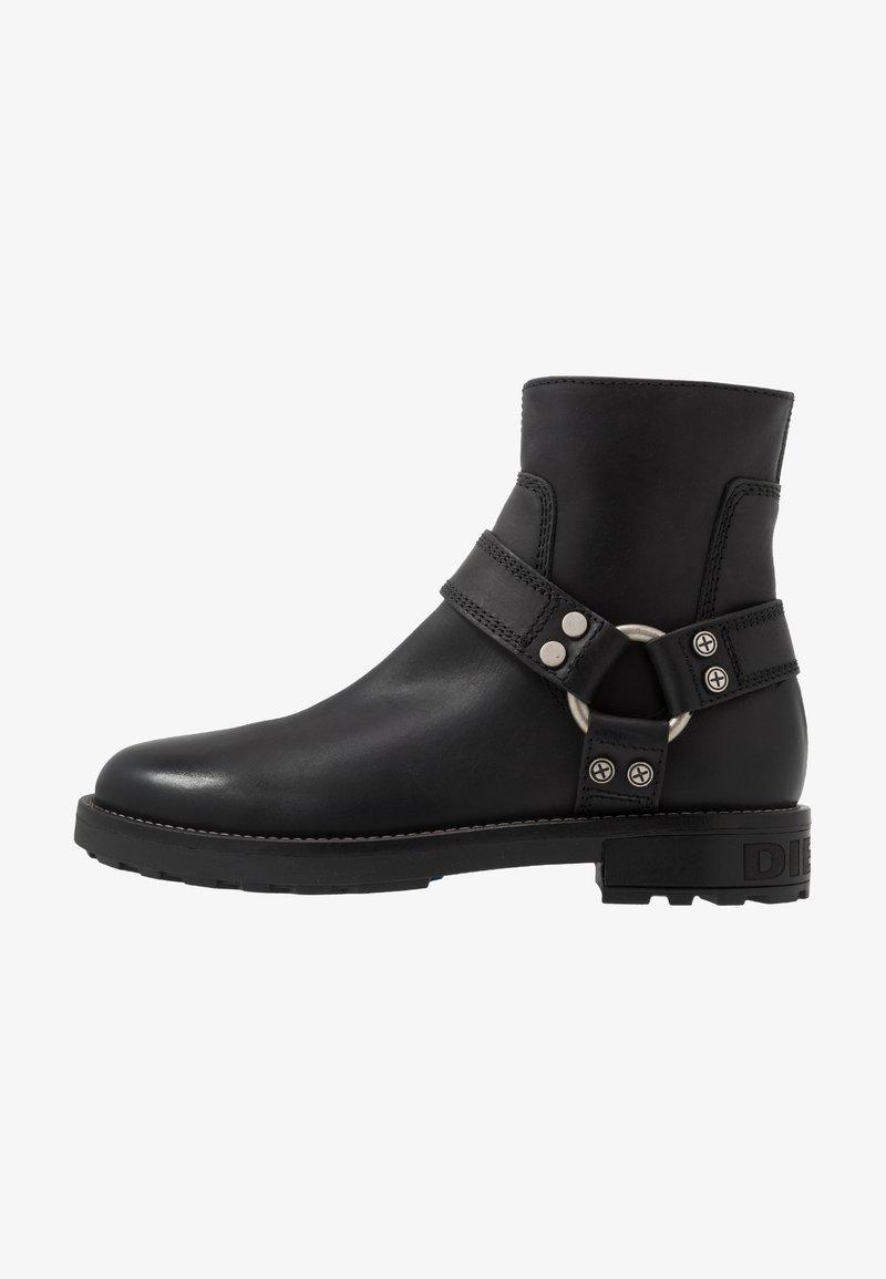 Diesel - D-THROUPER AB - Cowboy/biker ankle boot - black