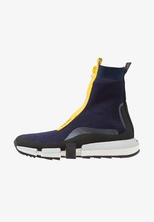 H-PADOLA MID ZIP - Sneakers hoog - blau
