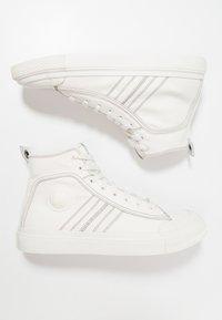Diesel - S-ASTICO MID LACE - Sneakers hoog - weiß - 1