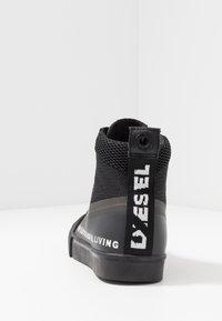 Diesel - S-DVELOWS MID - Vysoké tenisky - black - 3