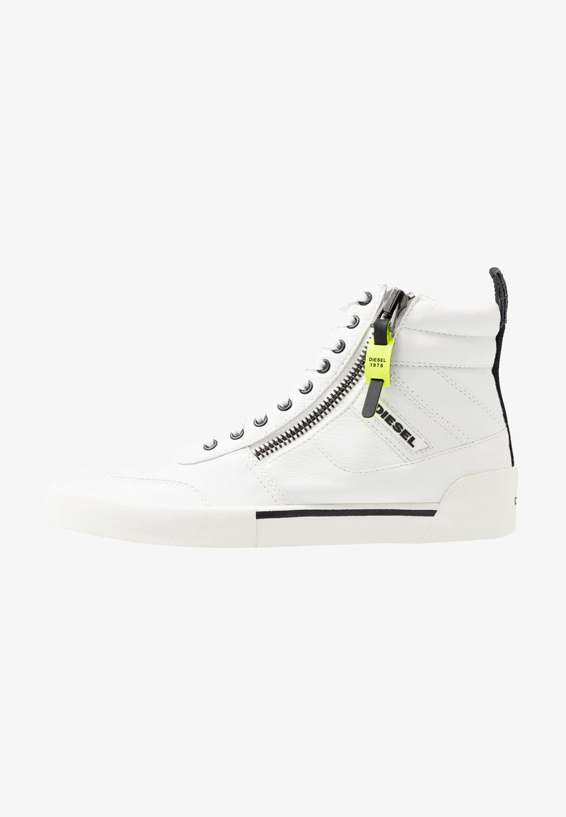 Diesel - S-DVELOWS MID - High-top trainers - star white