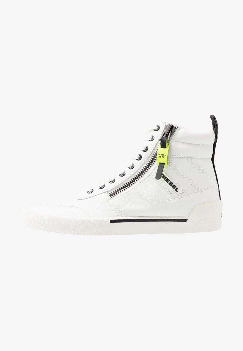 Diesel - S-DVELOWS MID - Höga sneakers - star white