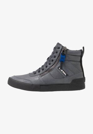 S-DVELOWS MID - Höga sneakers - iron gate