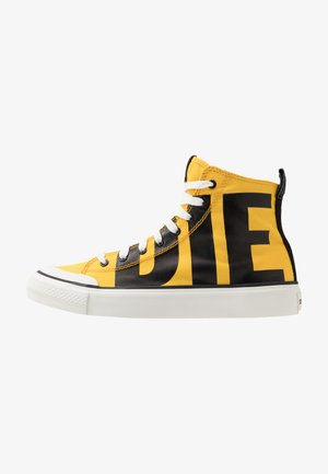 S-ASTICO MC - High-top trainers - freesia yellow/black