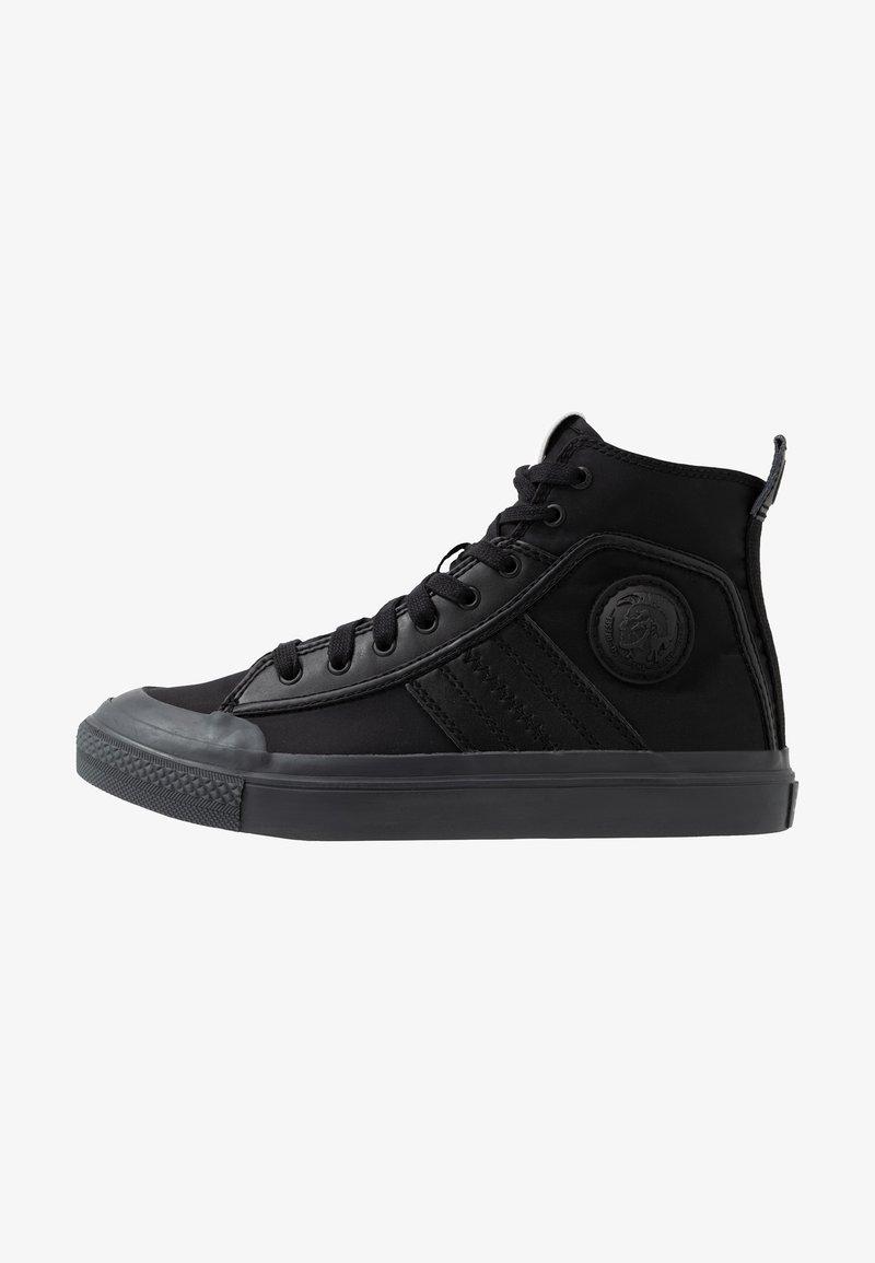 Diesel - S-ASTICO MID LACE - Zapatillas altas - black