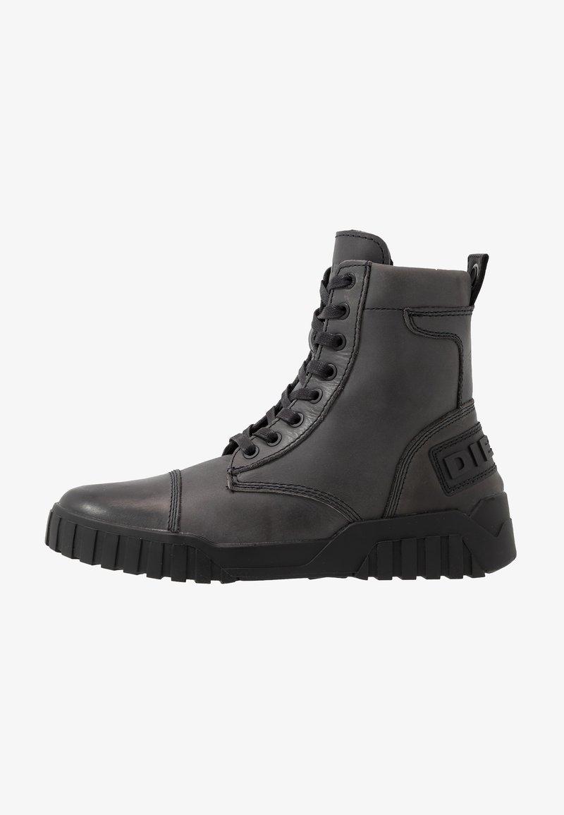 Diesel - H-RUA AM - Sneakers hoog - iron gate