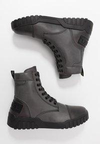 Diesel - H-RUA AM - Sneakers hoog - iron gate - 1