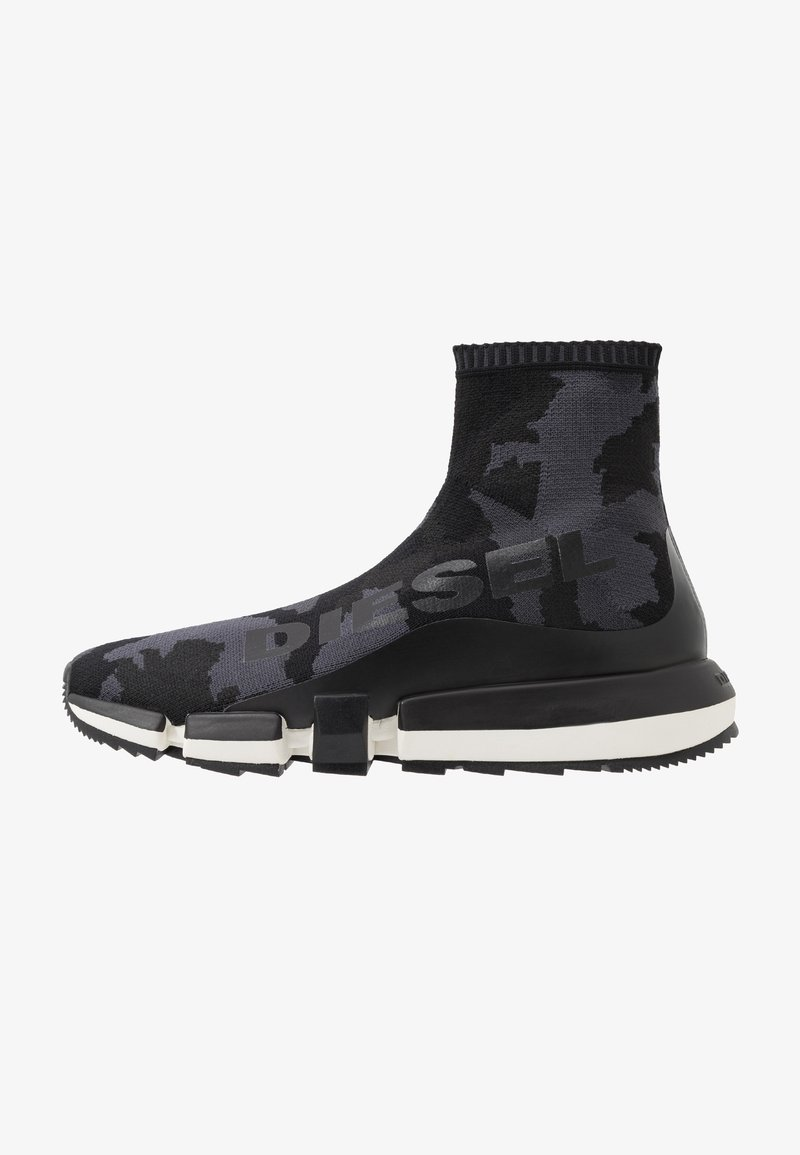 Diesel - H-PADOLA HIGH SOCK - Sneakers alte - black