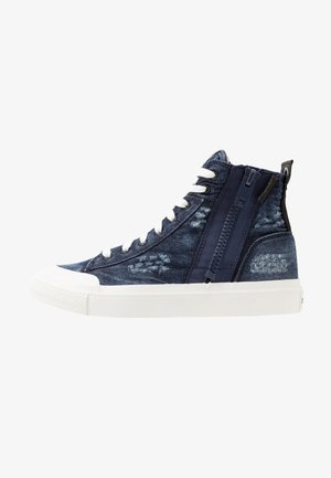 S-ASTICO MID ZIP - High-top trainers - indigo