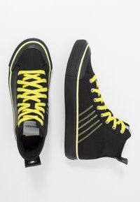 Diesel - S-ASTICO MC H - Sneakers high - black/sunny lime - 1