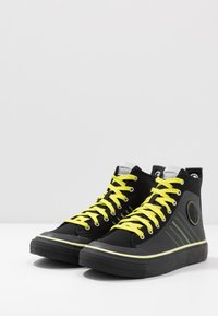 Diesel - S-ASTICO MC H - Sneakers high - black/sunny lime - 2