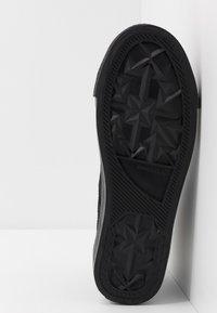 Diesel - S-ASTICO MID LACE - Sneakers alte - black - 4