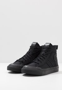 Diesel - S-ASTICO MID LACE - Sneakers high - black - 2