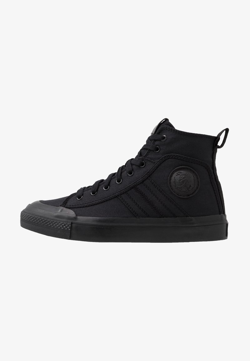 Diesel - S-ASTICO MID LACE - Sneakers high - black